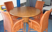 lloyd loom stoelen / fauteuils