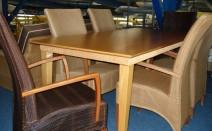 6 lloyd loom stoelen