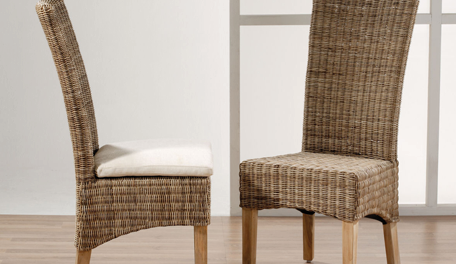 Rotan meubelen en stoelen for Loom stoelen